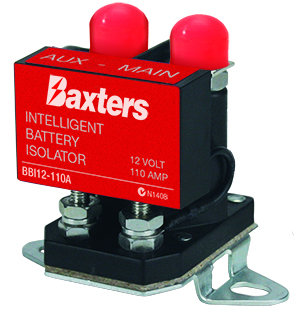The new Baxters Battery Isolator