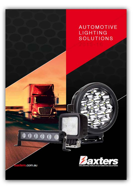 Baxters Automotive lighting solutions