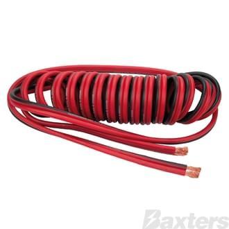 Suzi Coil 2 Pole Power Cable 4.6M 200Amp Short/Long Bare Ends