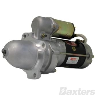 Starter Delco 28MT 2.5kW 12V 12T 46mm CW Hyster, Lister Petter, Perkins, Suits Clarke