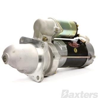 Starter Delco Type 28MT 2.5kW 12V 10T 32mm CW Cummins, Ford, Freightliner, White, Suits Bobcat