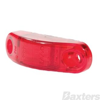 PETERSON Clearance Light LED Amber Red 9-30V IP67 65 X 20 X 16.5Mm SIDE MARKER