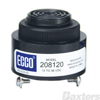 WARNING BUZZER ECCO 12/48V 80Db CONTINUOUS