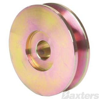 Pulley Single Groove 81 x 17 x 13mm