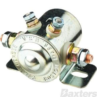 Solenoid Cole Hersee 24V 85A Normally Open Continuous Duty Metal Side Mount