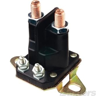 Solenoid Cole Hersee 24V 100A Normally Open Continuous Duty Plastic F180 Mount