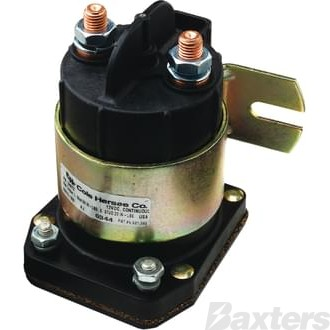 Solenoid Cole Hersee 12V 225A Normally Open Continuous Heavy Duty Plastic Side Mount