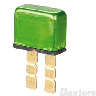 Circuit Breaker Cole Hersee 30A 12VDC Wedge Fuse Type Auto Reset