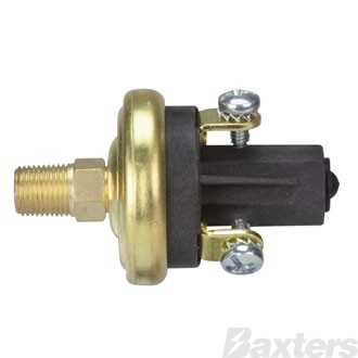 """VDO Pressure Switch N/C Oil Or Air Preset @ 5 PSI 1/8""""-27 nptf Suits Kenworth And DAF Truck Applications"""