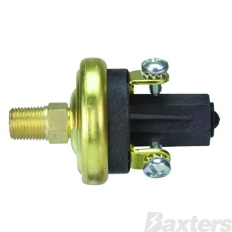 """VDO Pressure Switch N/C Oil OR Air Preset @ 65 psi 1/8""""-27 nptf Suits Kenworth And DAF Truck Applications"""