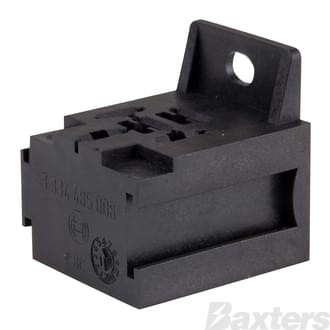Mini Relay Socket Bosch 4 & 5 Pins