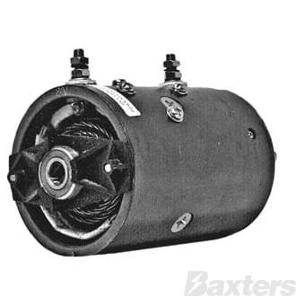 Motor Prestolite Type 24V Bi-directional CW/CCW Slot Shaft