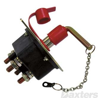 Battery Master Switch 12-48V 250Amp 2500Amp Peak ** can use 500047 400A Rated **