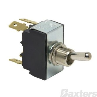 Switch Toggle Cole Hersee 12V 25A 24V 12A ON/OFF DPST