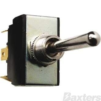 Switch Toggle Cole Hersee 12V 25A 24V 12A MON/OFF/MON Long Switch Stem