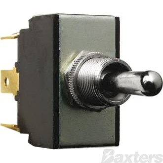 Switch Toggle Cole Hersee 12V 25A 24V 12A MON/OFF/MON DPDT Spade Terminals