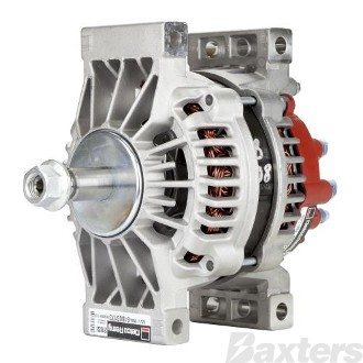 Alternator Delco 12V 180Amp 28SI Pad,Dual Internal Fan,Battery Sense