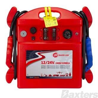 SOS Booster Pack 12/24V 2400/1200CA