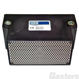 Ecco Back Up Alarm 12-36V 97-107-112Db Manually Adjusted