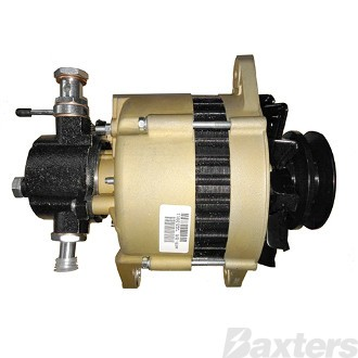 Alternator Hitachi Type 12V 100Amp E Coated Vac Pump Suits Nissan Patrol TD25 TD27 TD42