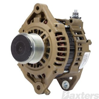 Alternator Hitachi Type E Coated 12V 110Amp Suits Nissan Patrol GU Navara D22 ZD30DDTI