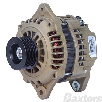 Alternator Hitachi Type 12V 100Amp E Coated Suits Holden Colorado Diesel 3.0L 2008 to 5/2012 4JJ1E