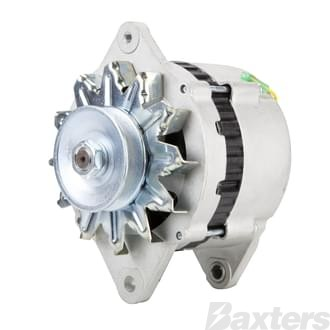 Alternator Hitachi Type 12V 80Amp Suits Yanmar 4JH2 4JH3 6YLM Insulated Ground
