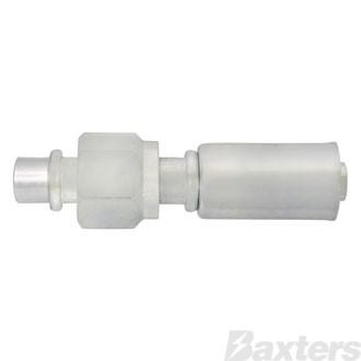 Steel Reduced Beadlock #6 Fitting Straight Female O Ring