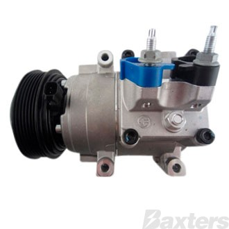 Compressor Halla Suits Ford Fiesta WT WZ 10/10- On HS15 12V 6PV 120mm