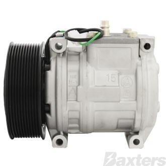 Compressor Denso Type Suits Mercedes Actros Truck 10PA15C 24V 11PV 135mm Will Replace 8PV 9PV