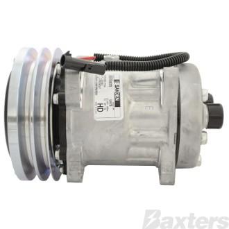 Compressor Sanden 4609 Suits Case IH SD7H15 12V 2GA 152mm HTO Ear Mount MD Head (Can Use A10-4478)
