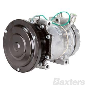Compressor Sanden 4942 Suits Kenworth SD7H15SHD 12V 6PV 119mm VOR Direct Mount JDA Head Long Haul
