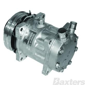 Compressor Sanden 8031 Suits Universal SD7H15 12V 2GA 132mm VOR Ear Mount JE Head (Can Use A10-4664)