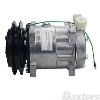 Compressor Aftermarket 8034 Sanden Type Suits Universal 24V 1B 146mm VOR Ear Mount JE Head