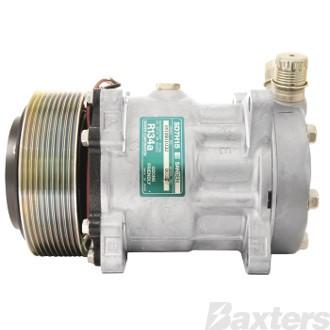 Compressor Sanden 8035 Suits Universal SD7H15 12V 10PV 125mm VOR Ear Mount JE Head
