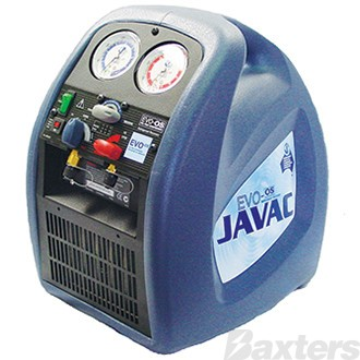 JAVAC EVO-OS Refrigerant Recovery Unit With Oil Seperator