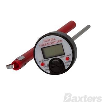 Digital Pocket Thermometer -50C To +150C Temperature Range