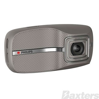 PHILIPS DASH CAM VIDEO RECORDER HD1080P 170° WIDE ANGLE LENS WITH 3M CABLE FOR OBD *** while stocks last ***