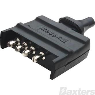 CONNECTOR 35amp H/D 4 POLE PLUG