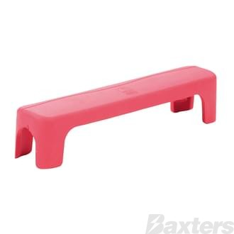 Busbar Cover Red Suits BB-6W-2S 6 Way Busbar
