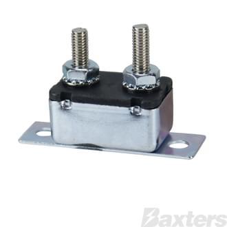 Circuit Breaker 12V 20A Auto-Reset Type I (RPCB1020)
