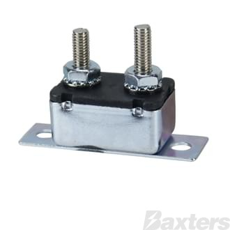 Circuit Breaker 12V 50A Auto-Reset Type I