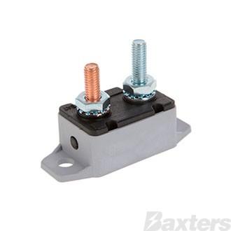 Circuit Breaker Plastic 12-24V 40A Manual Reset Type
