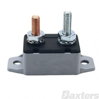 Circuit Breaker Plastic 12V 50A Auto-Reset Type I (RPCB1050P)