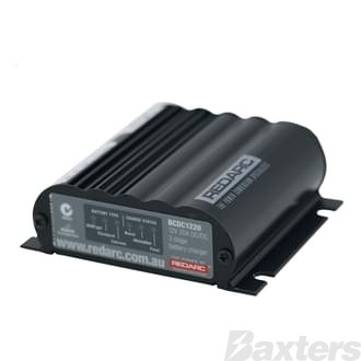 Redarc DC-DC In-Vehicle Battery Charger 9-32V Input, 20A Output