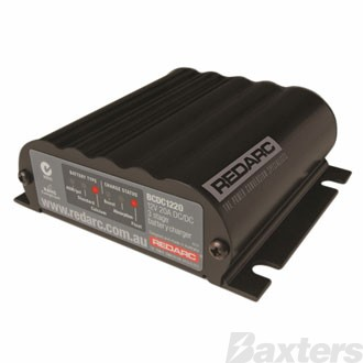 Redarc DC-DC In-Vehicle Battery Charger With 12/24V Input 20A Output