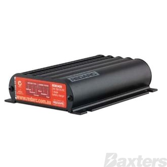 Redarc DC To DC In-Vehicle Battery Charger With 9 - 32V Input 24V Output 20A Rating