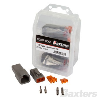 Baxters DTP Type Connector Kit 2 Way [5 sets]
