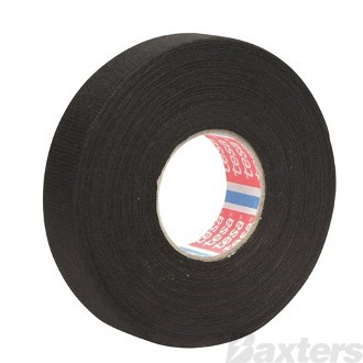Tesa Fleece Tape Noise Dampening, Abrasion Resistant, Tear Resistant, Flexible Tape, 19mm x 25m  [Each]