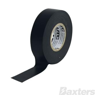 Harness Tape Black Premium Grade 19mm x 25m [Pkt of 10]